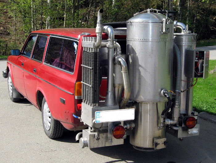 Wood gas generators 101 what 39 s a gasifier for How to get motor oil out of wood